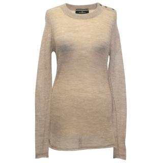 Malene Birger Knitted Gold Jumper