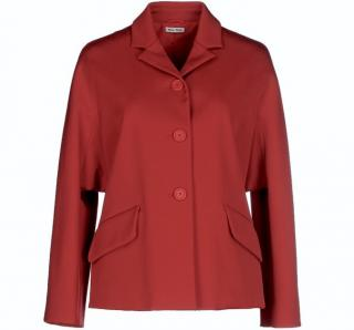 Miu Miu Red Blazer