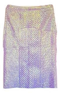 Nina Ricci Iridescent Effect Skirt