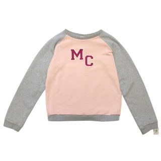 Marie Chantal MC Pink and Grey Sweater