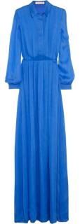 Matthew williamson blue chiffon dress