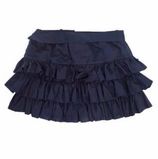 Ralph Lauren Girls Navy Skirt with Ruffles