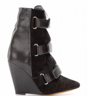 Isabel Marant Pierce Wedge Boots Shoes