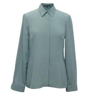 Gucci Teal Blouse