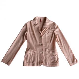 Piazza Sempione cashmere stretch blazer