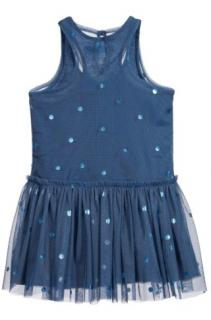 Stella McCartney Girl's 'Bell' Polka Dot Tulle Dress