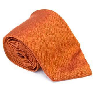 Pal Zileri orange pattern tie