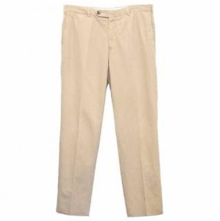 Faconnable Beige Trousers