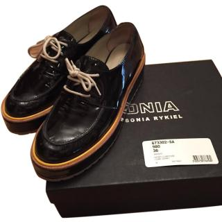 Sonia by Sonia Rykiel black patent leather shoes size 36