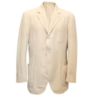 Brunello Cucinelli beige blazer