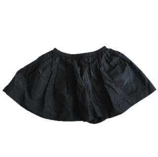 Miu Miu Puffy Black Skirt