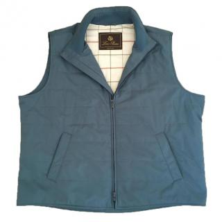 Loro Pian Blue Vest Men