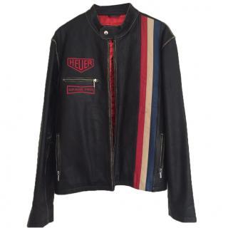 Tag Heur Leather Jacket