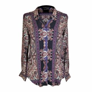 The Kooples Paisley Blouse