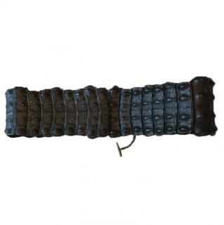 Alexander McQueen crocodile belt