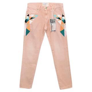 Sandrine Rose Pink Jeans