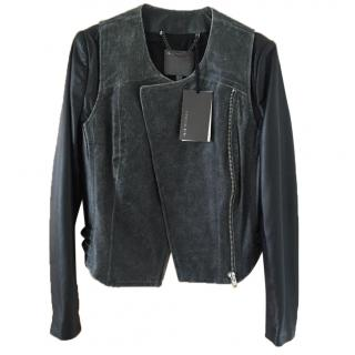 Muu Baa Leather Jacket UK10