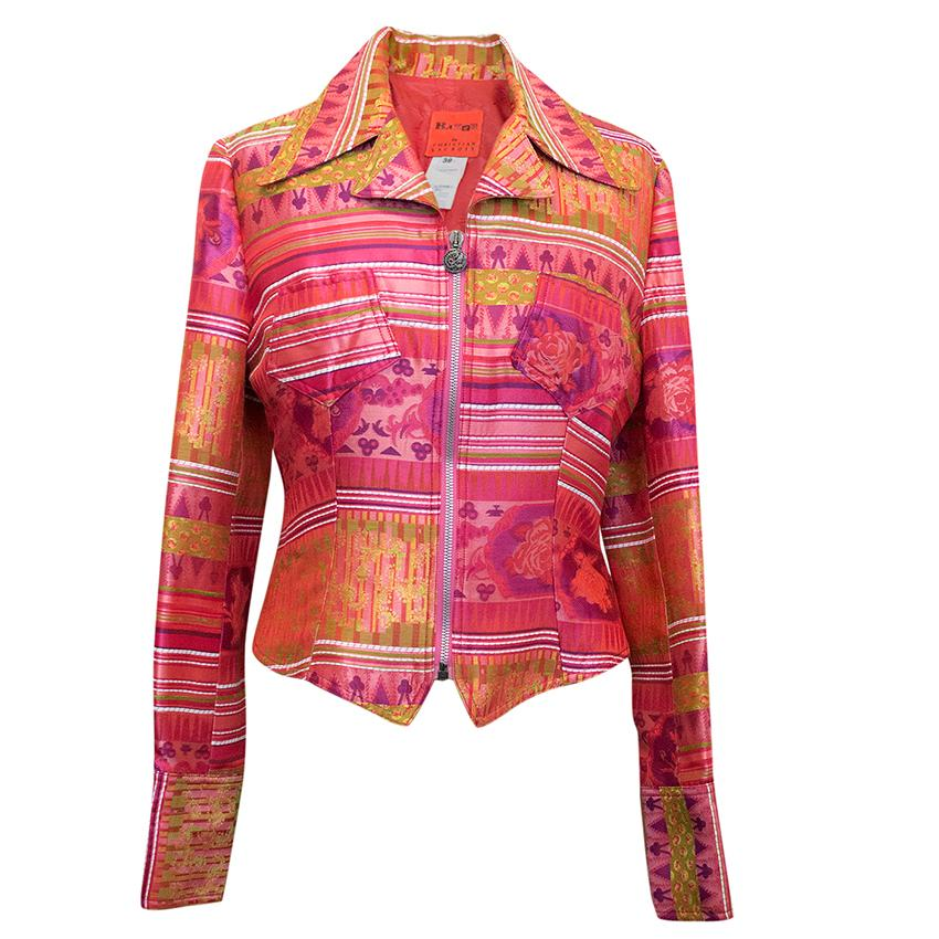 Christian Lacroix vintage cotton jacket