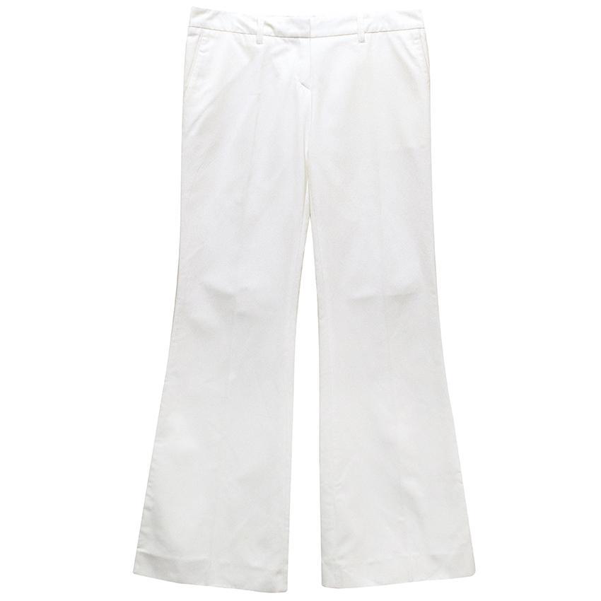 Barbara Bui white trousers.