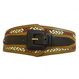 Burberry Prorsum belt