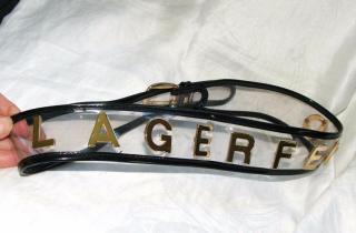 Lagerfeld belt