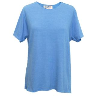 Sandrine Rose Blue Top