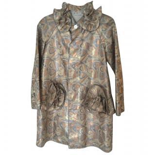 Marc Jacobs Metallic Coat