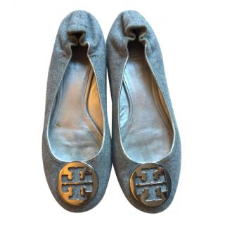 Tory Burch Flannel Flats