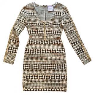 Herve Leger Evie Jacquard Dress