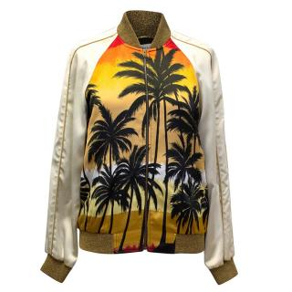 Saint Laurent Palm Tree Bomber