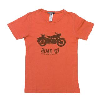 Bonpoint Red Motorcycle T-Shirt