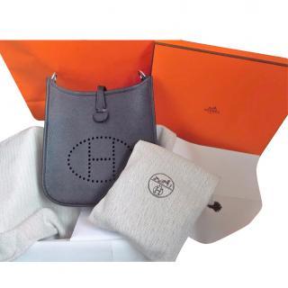 Hermes Black Evelyn TPM Bag