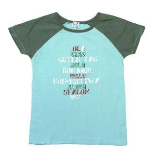 C de C Blue Hello T-shirt