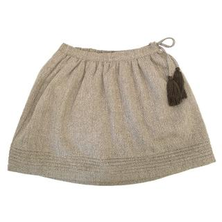 C de C Brown Skirt