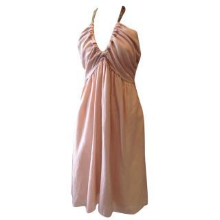 Kenzo Silk Halterneck Dress