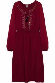 Altuzarra Embroidered Georgette Dress