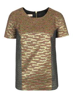 MW Matthew Williamson jacquard top