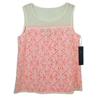 Marc by Marc Jacobs silk lace top