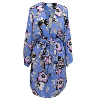Yumi Kim Blue Floral Kyoto Dream Kimono Dress