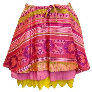 Christian Lacroix vintage cotton skirt