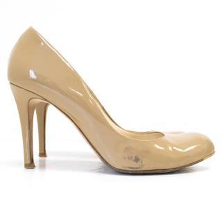 L.K Bennett beige leather pumps