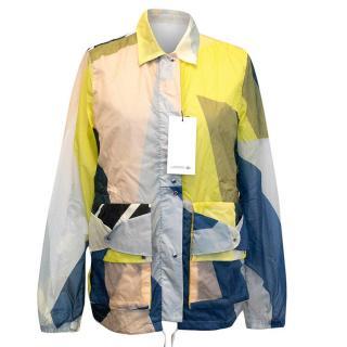 Lacoste fashion show color block jacket