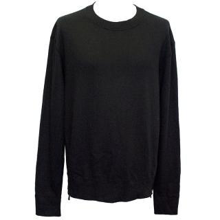 J Brand long sleeved black jumper.