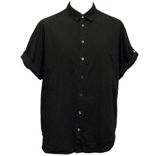 Phillip Lim black short sleeved shirt