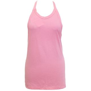 Comme des Garcons pink halter neck backless top