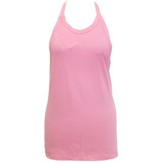 Comme des Garcons pink halter neck backless top