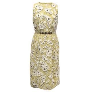 Matthew Williamson Daisy Lace Midi Dress