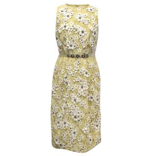 Matthew Williamson Daisy Lace Midi Dress