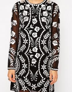 Needle & Thread Petal Stitch Dress