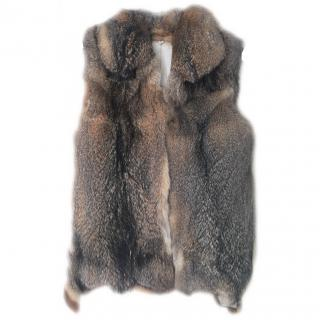 Fox Fur Gillet